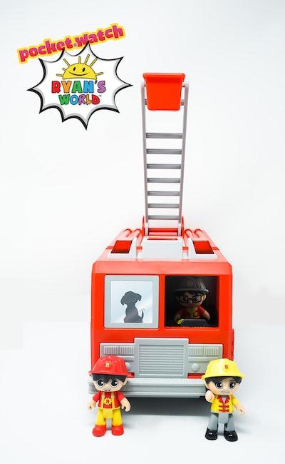 Ryan's Mystery Playdate Fire Truck Mystery Box