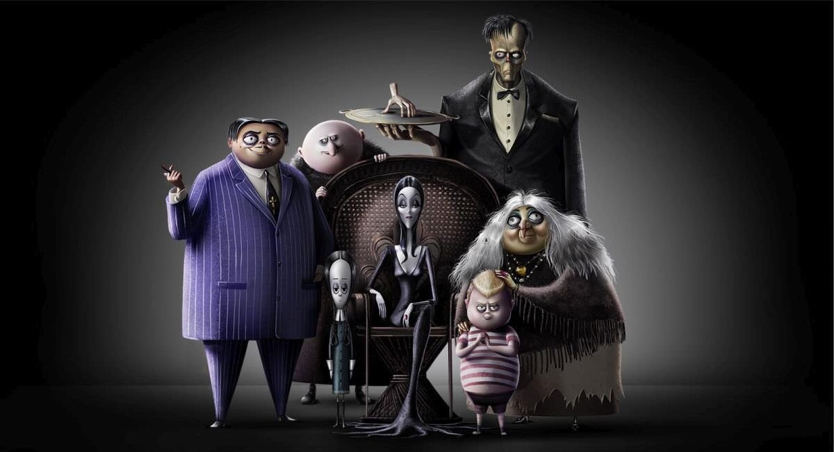 The animated Addams family will welcome you this halloween, when you can watch The Addams Family for...