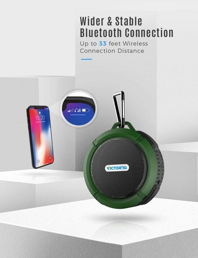 VicTsing Bluetooth Speaker
