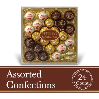 Ferrero Rocher Fine Hazelnut Milk Chocolates