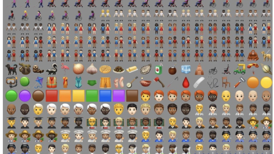 New emojis for the iPhone 13.2 update