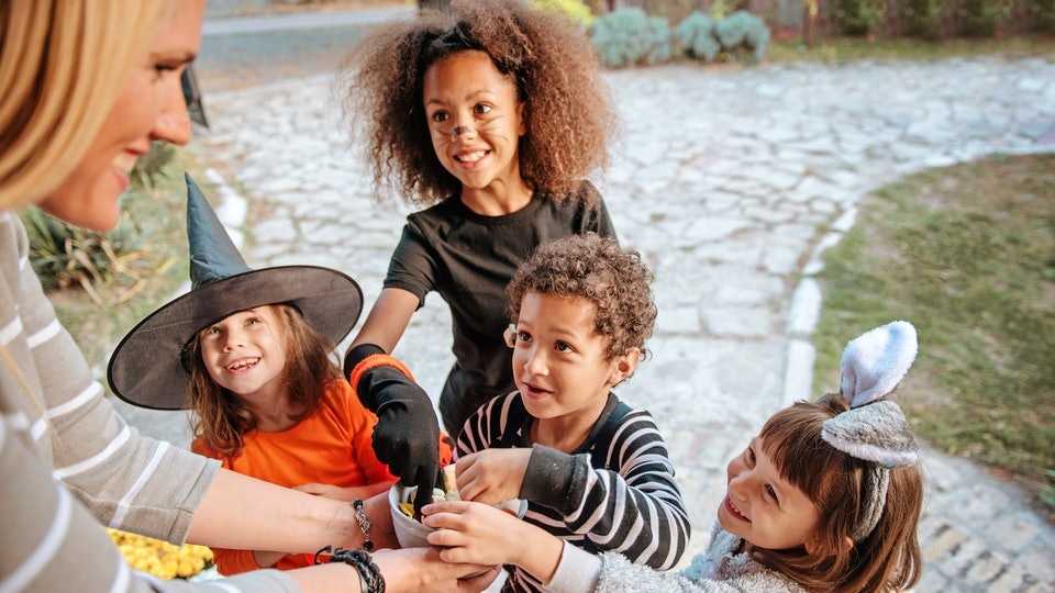 """Saying """"trick or treat"""" is a sweet tradition, but there are reasons why a child might not feel comfortable saying it."""