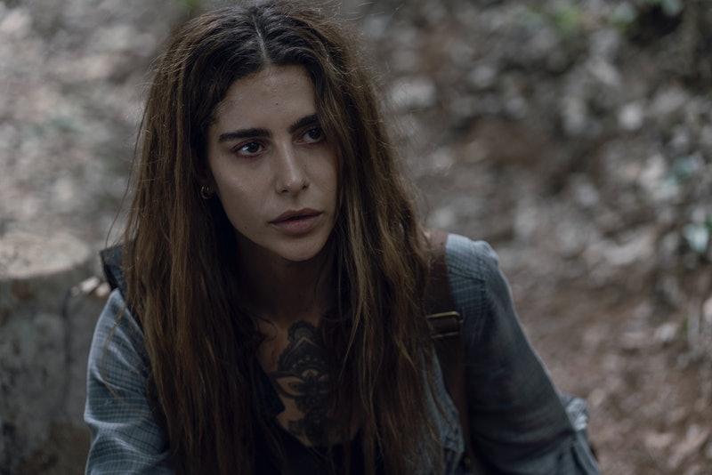 Nadia Hilker as Magna in The Walking Dead Season 10, Episode 5