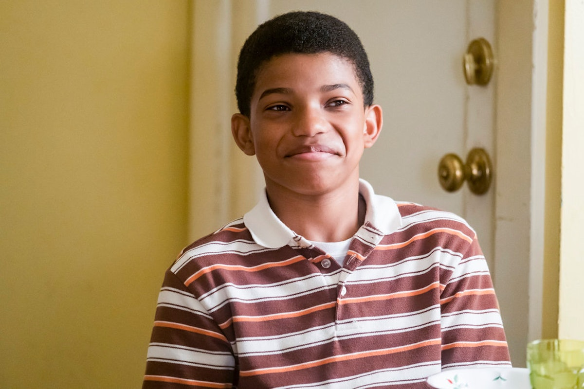 Young Randall in This Is Us