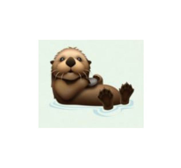 sea otter emoji