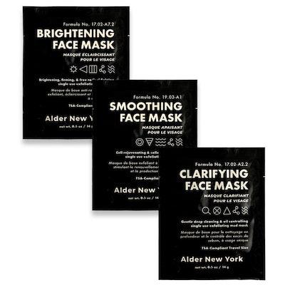Exfoliating Mud Face Mask Trio