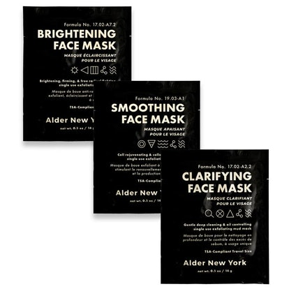 Exfoliating Mud Face Mask Trio