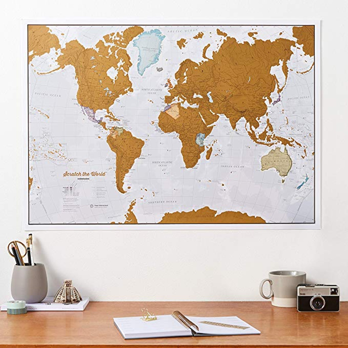 Maps International Scratch The World Travel Map
