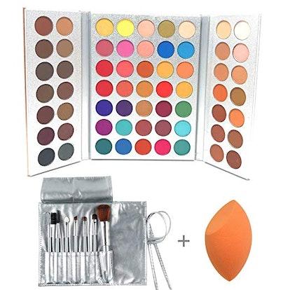 Beauty Glazed 63 Colors Eyeshadow Professional Makeup
