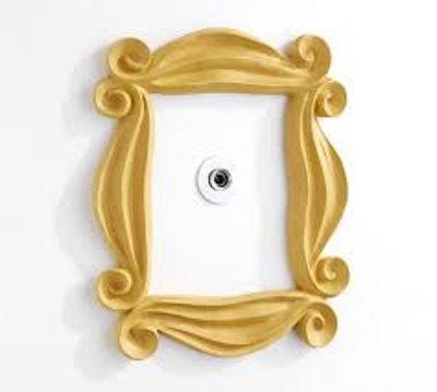 Friends Peephole Frame Wall Decor