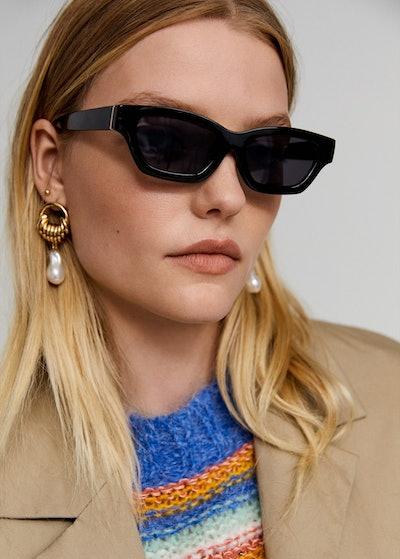 Leandra Medine x Mango Acetate Frame Sunglasses
