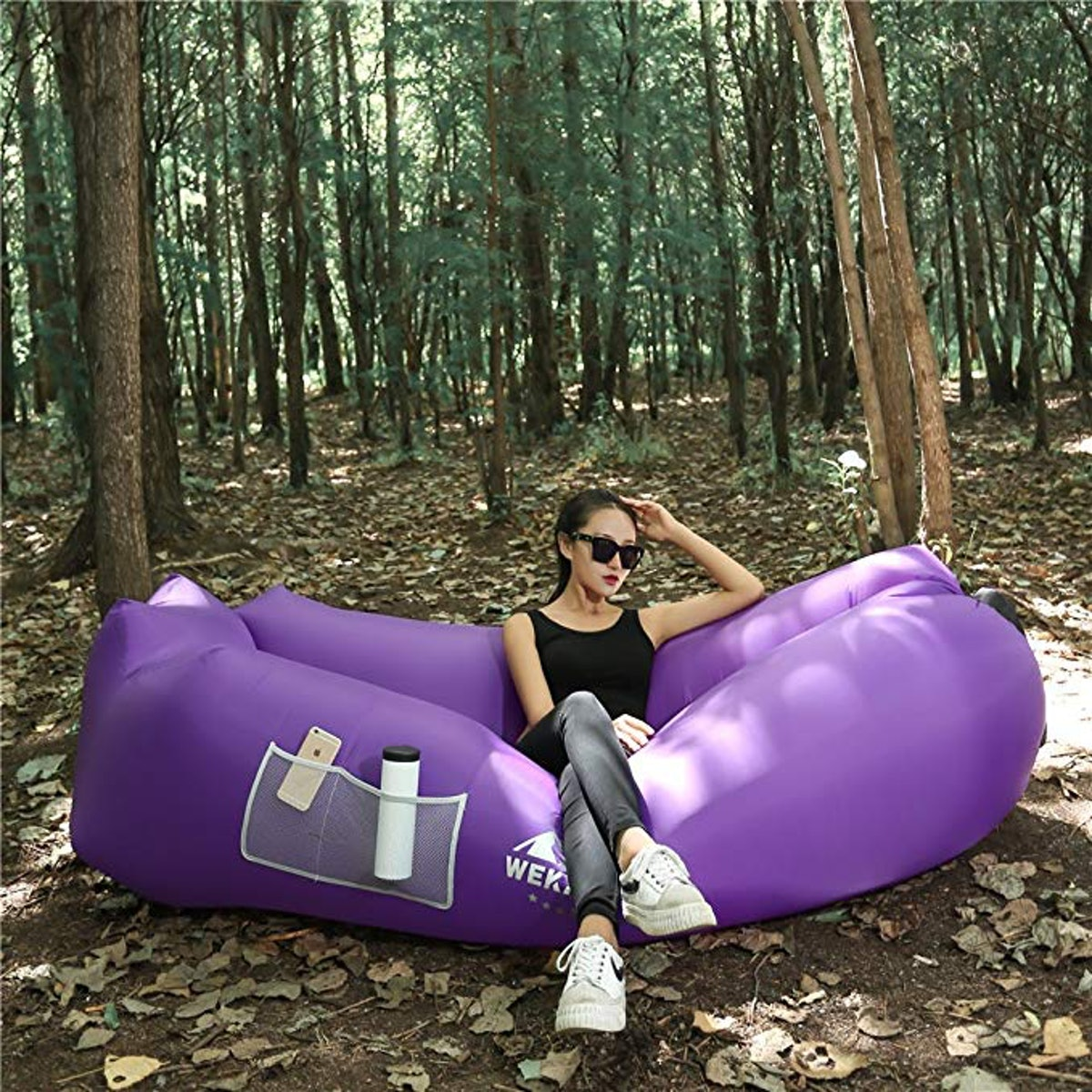 WEKAPO Inflatable Air Sofa Hammock-Portable
