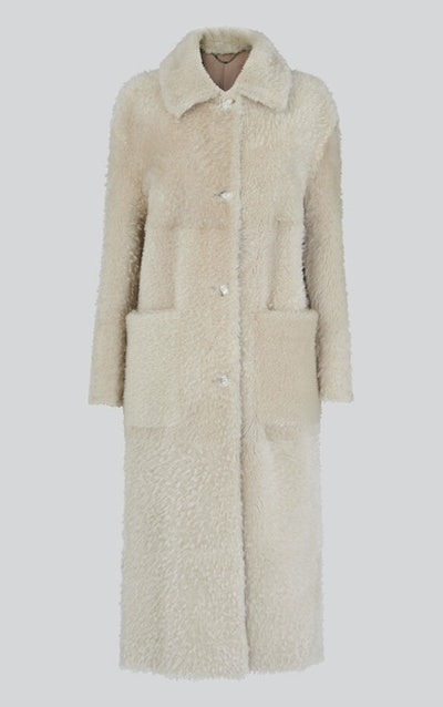 Erika Shearling Coat