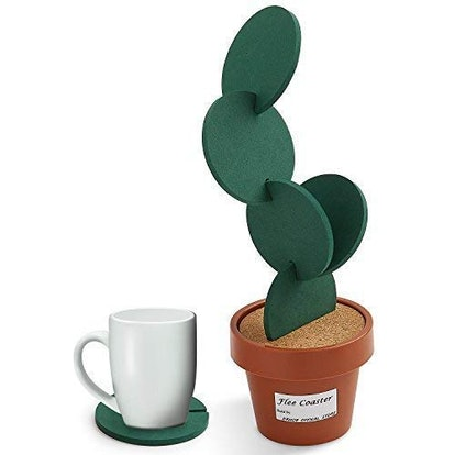 Drhob Flee 6-Piece Green Coaster Set