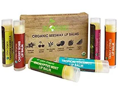 Sky Organics Organic Lip Balm (6-Pack)