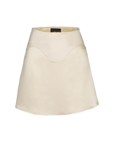 Wave Silk Skirt