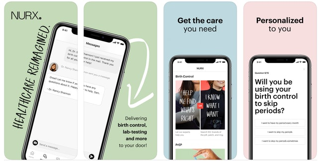 Nurx is an affordable birth control app that can deliver birth control to your door.