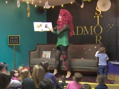 Drag Queen Story Hour gains popularity as an alternative event to inspire inclusivity.
