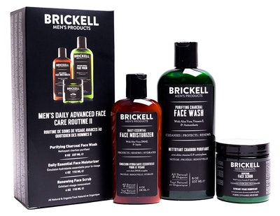 Brickell Men's Products Advanced Face Care Set