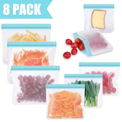 Wattne Reusable Storage Bags (8-Pack)