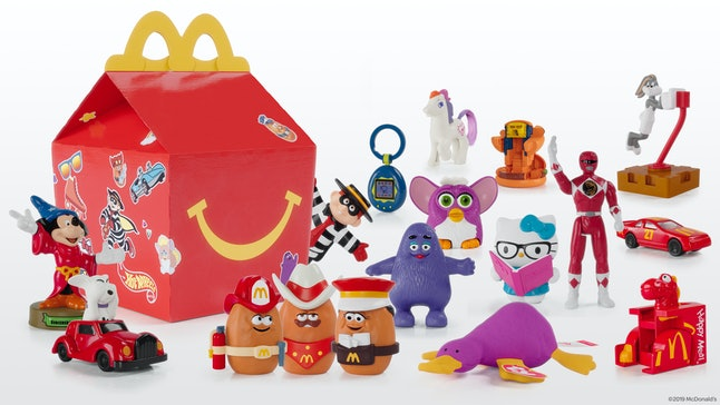 Beanie Babies, Tamagotchis, and other nostalgic Happy Meal toys are coming back for a limited time.