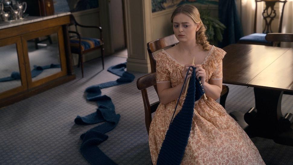 """Anna Baryshnikov as Lavinia in """"Dickinson,"""" premiering November 1 on Apple TV+."""