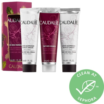 Caudalie Hand and Nail Cream Trio