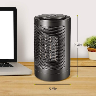 HALOFUN Oscillating Portable Ceramic Electric Heater