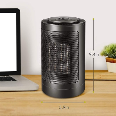 HALOFUN Oscillating Portable Ceramic Electric Heater