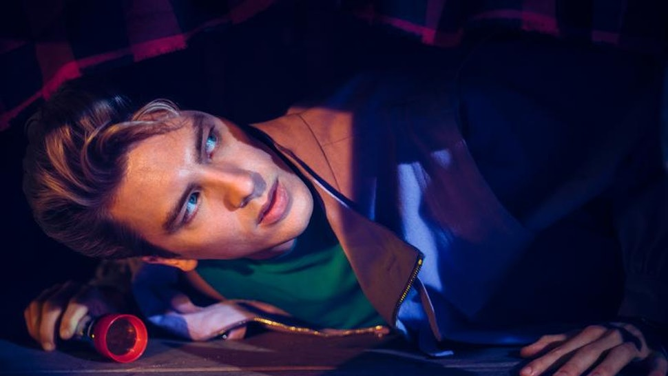 Cody Fern as Xavier on AHS: 1984.