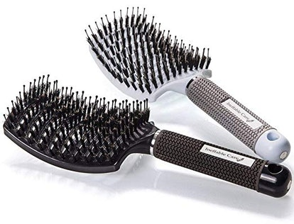 Boar Bristle Hair Brush set
