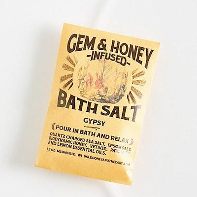 Wild Honey Apothecary Gem & Honey Infused Bath Salts