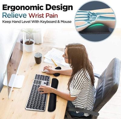 Gimars Keyboard Wrist Pillow