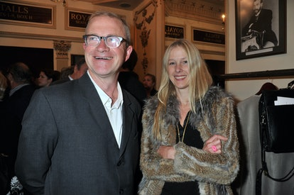Harry Enfield and his wife Lucy Lyster