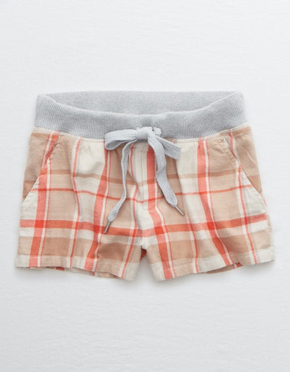 Flannel Boxer in Raw Sienna