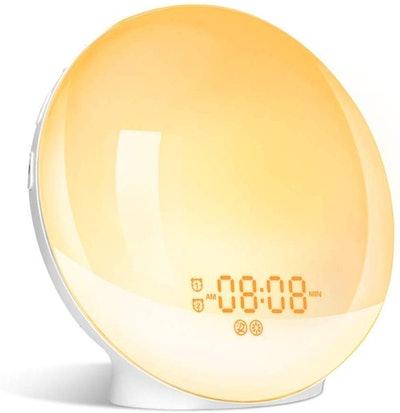 LBell Wake- Up Light Alarm Clock