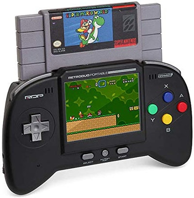 Retro-Bit RDP 2 in 1 Portable Handheld Console System - for NES and SNES Games