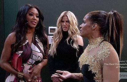 Sheree, Kim, and Kenya on RHOA