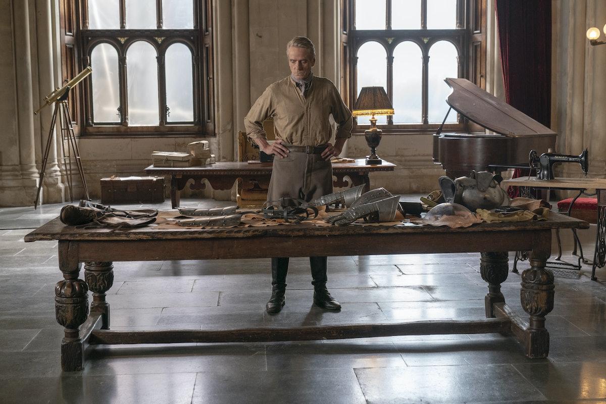 Jeremy Irons as Adrian Veidt on Watchmen