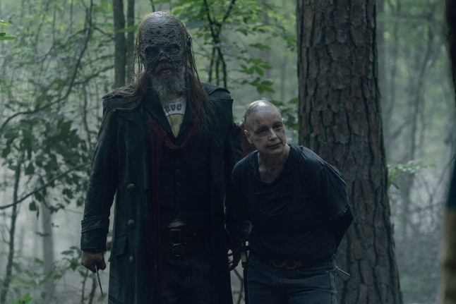 Alpha and Beta on The Walking Dead