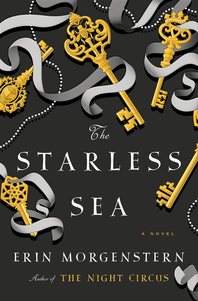 The cover of The Starless Sea, the long-anticipated second novel from The Night Circus author Erin Morgenstern.