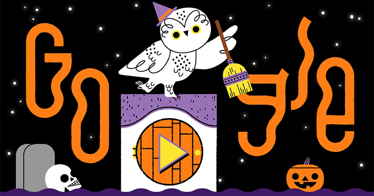 This Halloween 2019 Google Doodle Is An Interactive Trick-Or-Treat Game