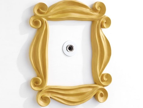 "You can get the iconic peephole frame from ""Friends"" at Pottery Barn."