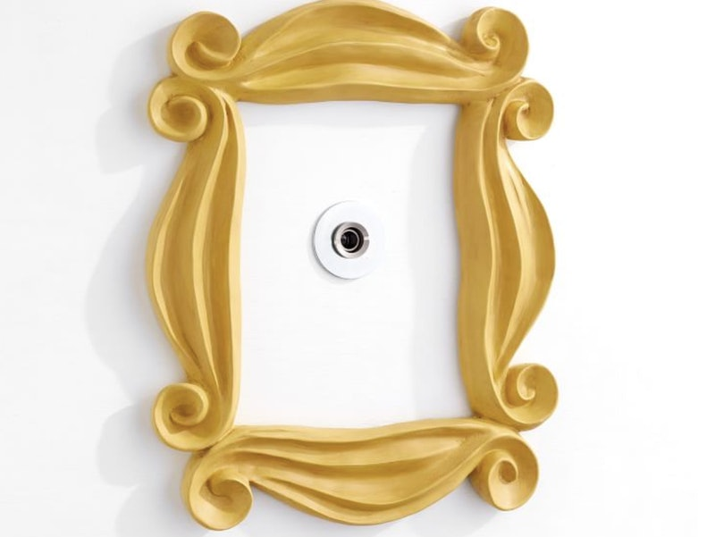 """You can get the iconic peephole frame from """"Friends"""" at Pottery Barn."""