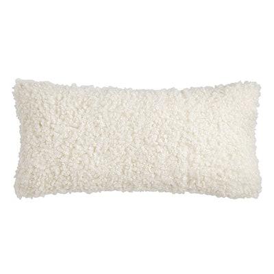 Mongolian Faux Fur Lumbar Pillow