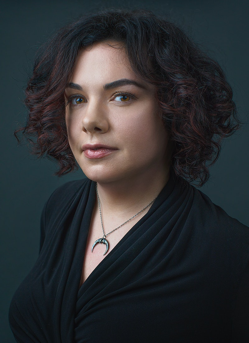 Author Erin Morgenstern, author of The Night Circus and The Starless Sea.