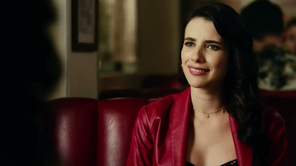 Emma Roberts in the 'AHS: 1984' Episode 8 promo