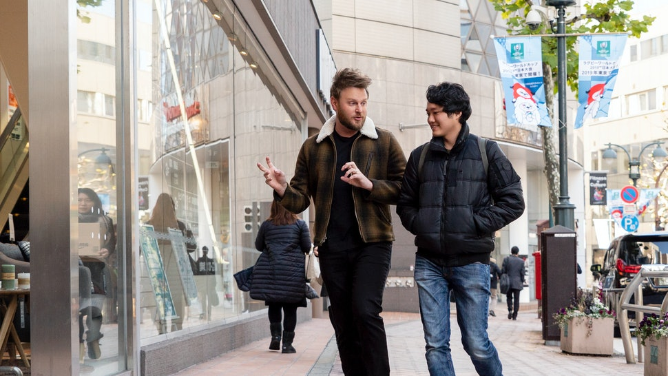 Kan and Bobby Berk on Queer Eye: We're in Japan!