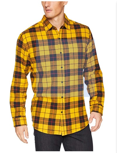 Amazon Essentials Plaid Flannel Shirt