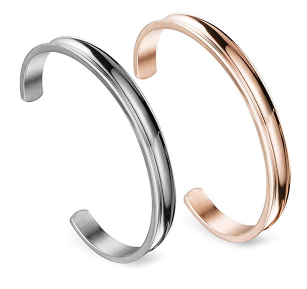 Zuo Bao Stainless Steel Bracelet (2-Pack)